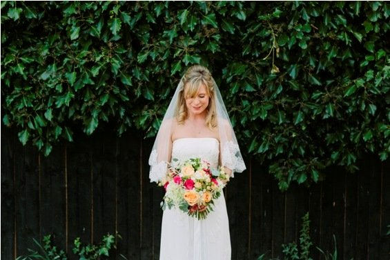 Gaynes Park May wedding