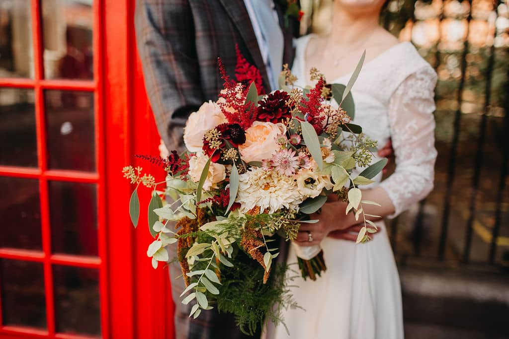 bridal bouquet wedding london flowers